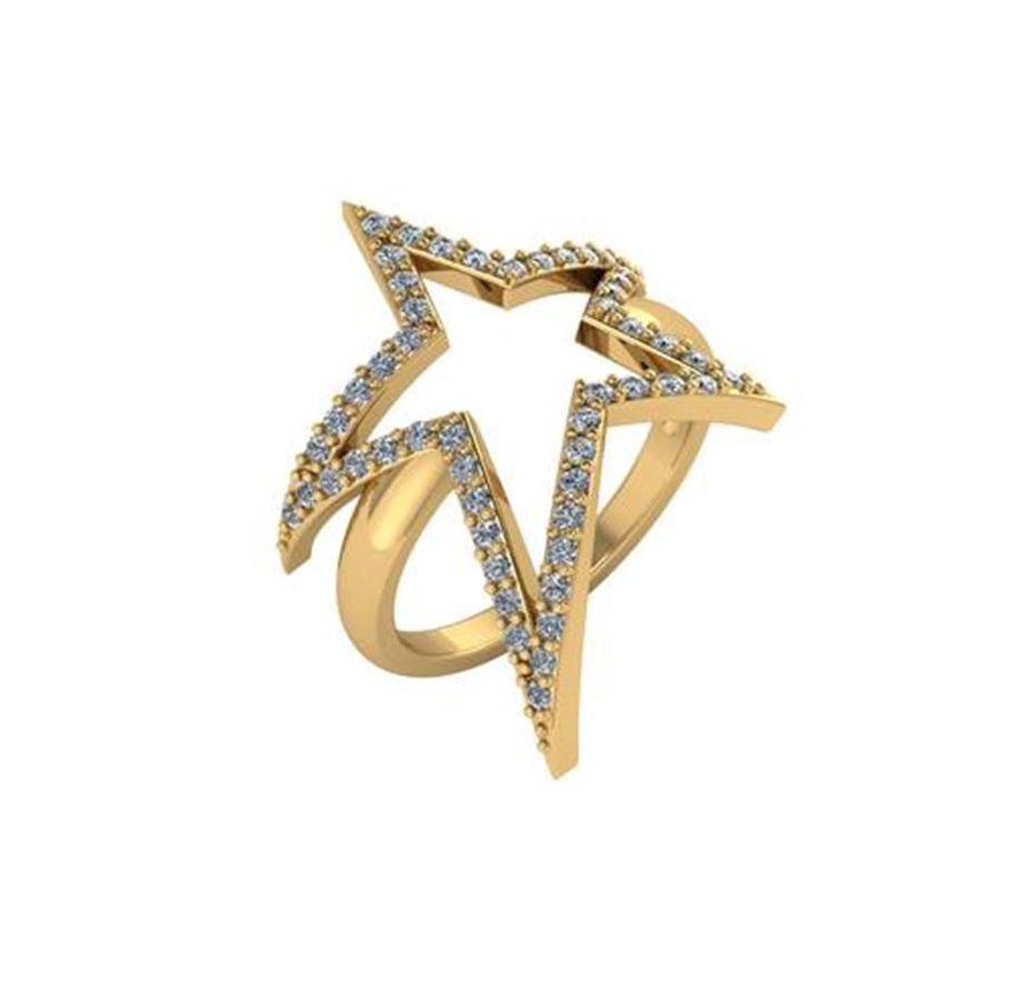Lucky Star Gold Ring