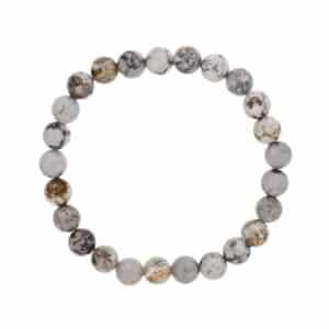 Mens_Gray_jasper_bracelet