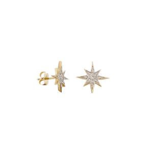 North_star_earrings