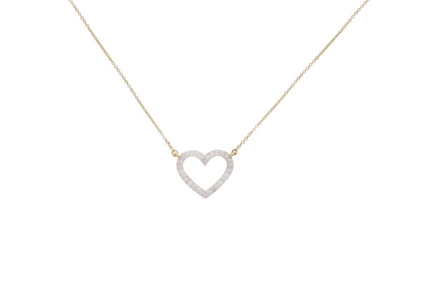 DIAMONDHEARTNECKLACE