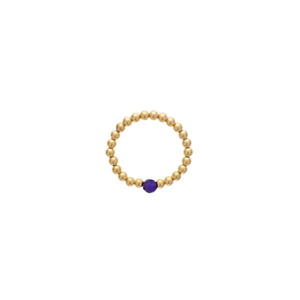 February Birthstone Ring